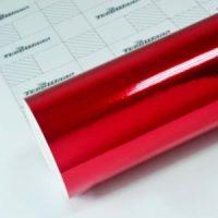 Пленка Зеркальный хром красный TeckWrap - Cherry Red - CHM04E